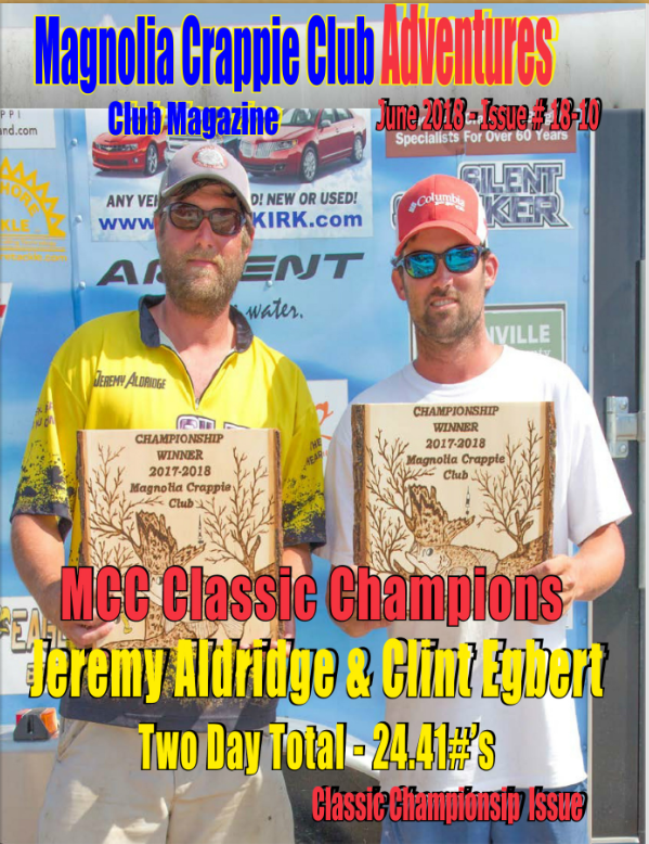 MCC Advenures Magazine - Championship Issue