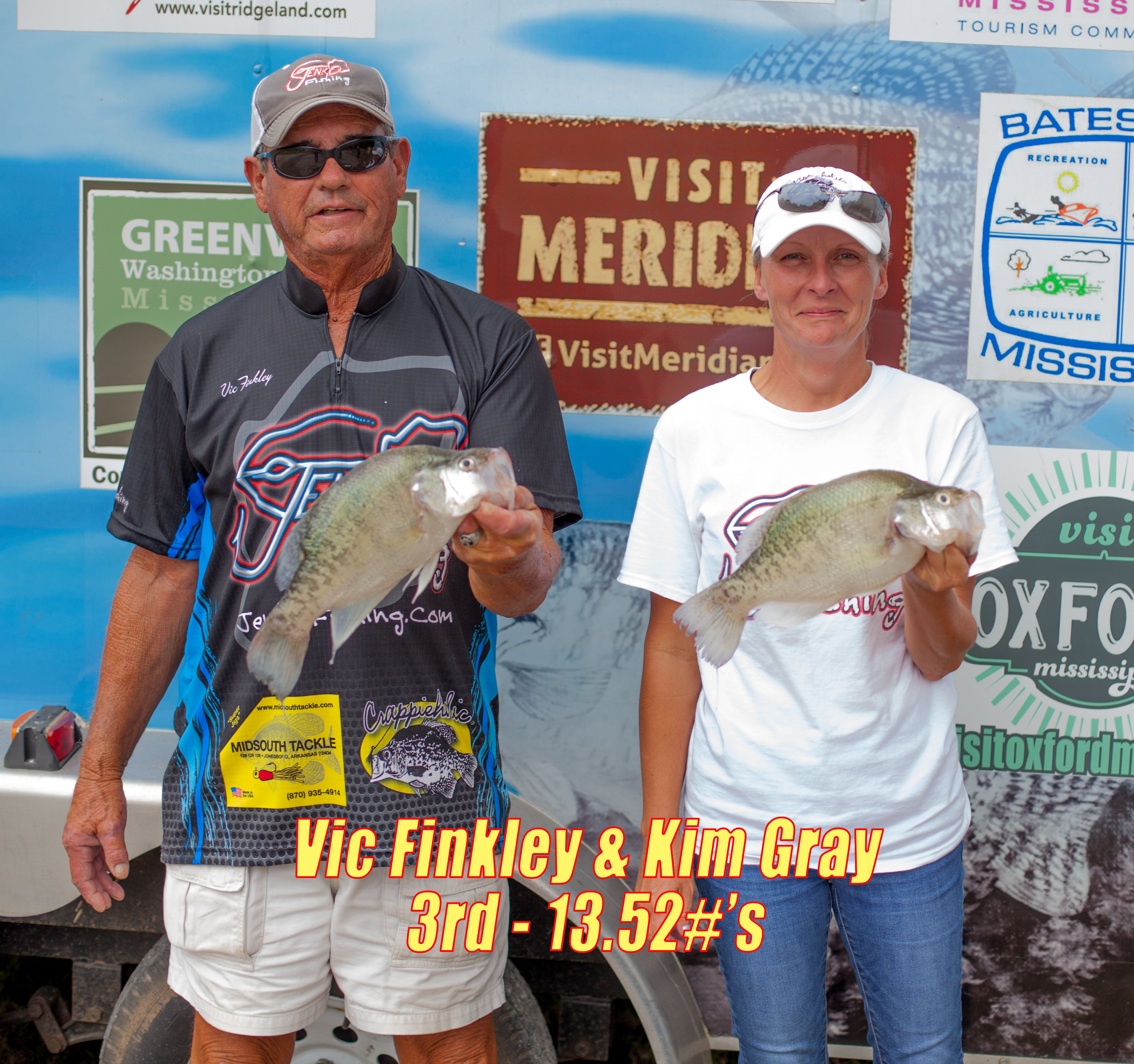 Welcome to the magnolia crappie club for Big fish classic